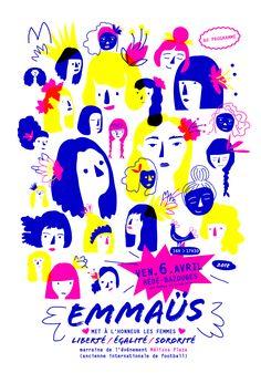 Emmaüs - Les femmes à l'honneur - Le Jardin Graphique