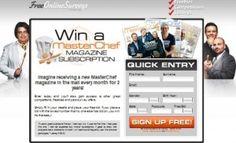 Win A MasterChef Magazine Subscription Win Free Stuff, Competition, Magazine, Magazines, Warehouse, Newspaper