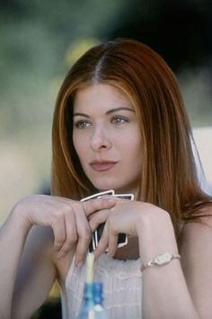 Debra Messing in The Wedding Date The Wedding Date, Sister Wedding, Dermot Mulroney, Debra Messing, Wedding Movies, Red Hair Color, Celebs, Celebrities, Pretty People