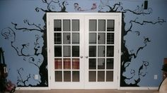 tim burton wall decals | Vinyl Wall Stickers - Arts & Crafts, and photography - Tropical Fish ...