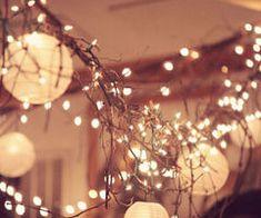 lumières jolies...
