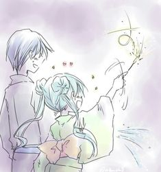 Kaito Shion, Anime Ships, Hatsune Miku, Cute Drawings, Anime Couples, Beautiful World, Otp, Kawaii, Fan Art