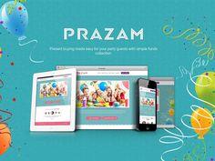 """다음 @Behance 프로젝트 확인: """"Party Website Design"""" https://www.behance.net/gallery/40184891/Party-Website-Design"""