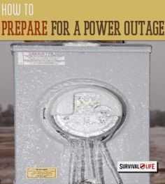 Ready your Home for a Power Outage | Survival skills and preparedness tips at survivallife.com #survivalskills #survivallifehacks