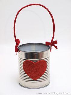 MIMOSORUM : Manualidades fáciles y divertidas para San Valentín - Valentine´s Day Easy Crafts