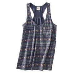 Mossimo Supply Co. Juniors Printed Tank - target