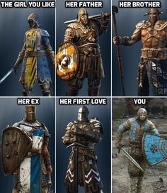 emilthehuman:  Hot batch of For Honor memes