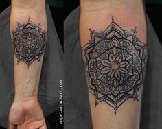 Angela GraceTattoo Artist, Damask Tattoo I drew all the time as a youngster and my foundation is in portrait-work and realism. I learned to draw by trying (...)