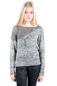 Shoptiques — Glittered Dual Tone Sweater
