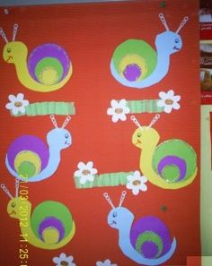 snail craft idea for kids (1)