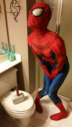 Character: Spider-Man (Peter Parker) / From: MARVEL Comics 'The Amazing Spider-Man' / Cosplayer: Chaos Prince Cosplay