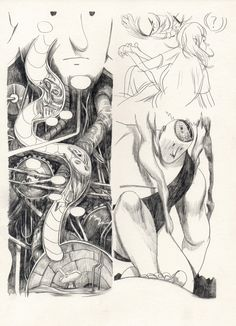 Galerie Julien Brugeas - Dessin d'Aseyn - Abigail, illustration 7