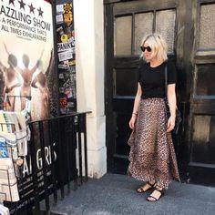 Ganni street style | Emma Rose Thatcher | Peirce Mesh Skirt