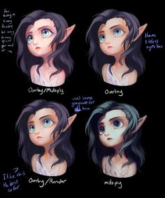 Some Different Style Things by Saige199.deviantart.com on @DeviantArt
