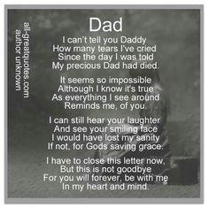 Miss u dad x