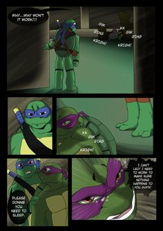 TMNT (fanmade) Same as it never was Aftershock _13 by FleshCreature on DeviantArt