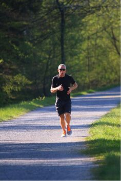 Trail running in the summer is a great workout, but you need to be careful of sprained ankles!
