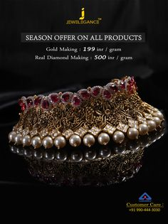 BIS - Hallmark Gold Jewellery and Certified Diamond Jewellery. Get in touch with us on Antique Jewellery Designs, Gold Jewellery Design, Handmade Jewellery, Indian Wedding Jewelry, Bridal Jewelry, Diamond Jewelry, Gold Jewelry, Diamond Necklaces, Metal Clay Jewelry