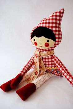 emily makes cute cute gingham dolls