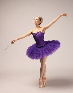 Murphy in costume as the Sugar Plum Fairy. Photo by Lindsay Thomas, Courtesy PNB.