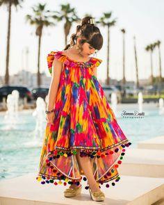 Baby Girl Dress Design, Girls Frock Design, Fancy Dress Design, Stylish Dress Designs, Stylish Dresses For Girls, Dresses Kids Girl, Cute Outfits For Kids, Kids Dress Collection, Kids Dress Wear