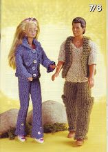 Photo: Barbie Knitting Patterns, Knitted Doll Patterns, Baby Cardigan Knitting Pattern, Barbie Clothes Patterns, Doll Clothes Barbie, Knitted Dolls, Barbie Dress, Clothing Patterns, Baby Knitting