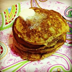 Lemon Coconut Pancakes.Made with coconut flour and coconut milk. They scream for blueberries.