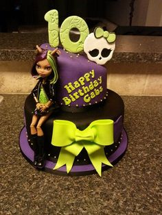 Monster High Cake Bolo Monster High, Monster High Birthday, Monster High Party, Fete Anne, Birthday Cake Girls, Birthday Cakes, Lego Cake, Minecraft Cake, Sweet 16 Cakes