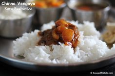 Kara Kuzhambu is tamarind based South Indian gravy that is mixed and had with steamed rice. If you love tangy and spicy dishes, then you would definitely l