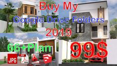 Home Design Plan with 4 Bedrooms Plot This villa is modeling by SAM-ARCHITECT With 2 stories level. It's has 4 bedrooms. Home Design Plan 3d Home Design, Modern Villa Design, Simple House Design, Home Design Plans, Plan Design, Interior Design, Narrow Lot House Plans, Modern House Plans, Small House Plans