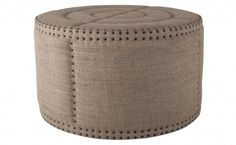Bulls Eye!  In the form of an ottoman.  From Jayson Home.
