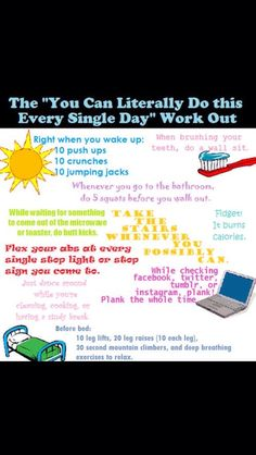 A Workout You Can Do Everyday #Health #Fitness #Trusper #Tip