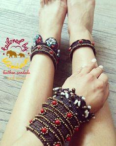 ● ● ● Boho Girl ● ● ● unique bracelet  Handmade Boho bracelet with semiprecious stones ▶ Limited edition ◀ Boho χειροποίητα  βραχιόλια με  ημιπολύτιμες πέτρες  για πόδια και χέρια. . . . 👣 ▶Περιορισμένα κομμάτια ◀  #worldwideshipping #tailoredbyvivian #boho #betailored #bohemian #handmade #handmadebyvivi  #handmadebyvivi #boho #bohemian #bohochic #tailoredbyvivian #greekdesigners #greece #madeingreece #greek #ladies #girls Unique Bracelets, Handmade Bracelets, Boho Girl, Greek Sandals, Leather Sandals, Stone, Instagram Posts, Rock, Rocks