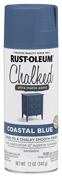 Rust-Oleum 12 oz Tidal Pond Chalked Spray Paint (6-Pack) Chalk - fresh blueprint 3 tidal