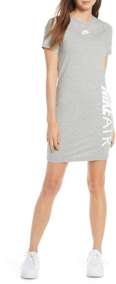 Nike Sportswear Air T-Shirt Dress Nike Dresses, Nordstrom Beauty, Prom Looks, Men Looks, Nordstrom Dresses, Nike Sportswear, Looking For Women, Athleisure, Night Out