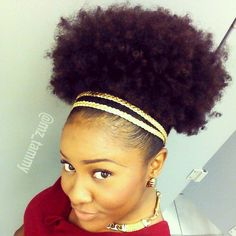 Now that's a puff! #naturalhair