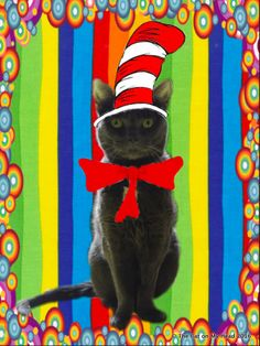 Fiona as The Cat in the Hat for Read Across America Day