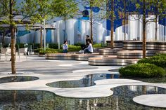 Gallery of Hyperlane Linear Sky Park / ASPECT Studios - 4 Studios Architecture, Landscape Architecture Design, Chinese Architecture, Landscape Plaza, Chengdu, Parque Linear, Chinese Buildings, Plaza Design, China Image