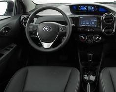 2018 Toyota Etios interior
