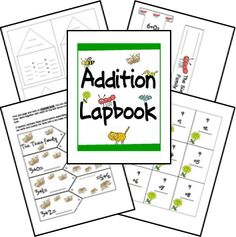 Free Addition Facts Lapbook  | Free Homeschool Deals ©