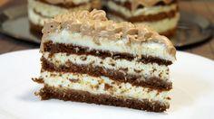 Čokoladna kokos fantazija by brzi kolači Brze Torte, Rodjendanske Torte, Cocoa Recipes, Sweet Recipes, Cookie Recipes, Torte Recepti, Kolaci I Torte, Kiflice Recipe, Torta Recipe