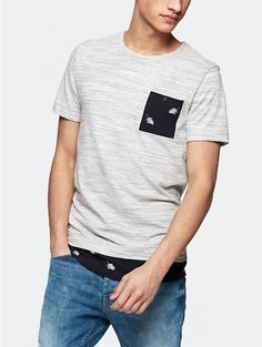 Long Fit T-shirt Grijsmelee - The Sting