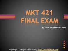 The purpose of MKT 421 individual and team assignments is to make the students aware about the numerous strategies employed in different industries and their significance.