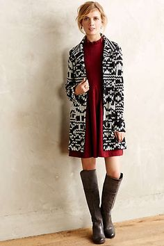 Fairisle Sweater Jacket @anthropologie.com