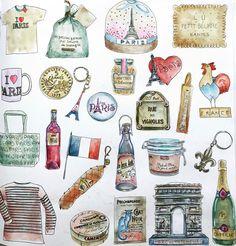 "0 Likes, 1 Comments - @momoandtoto on Instagram: ""Coloring Book: Secret Paris / Used: Watercolour #colouringforadults #colouringforgrownups…"""