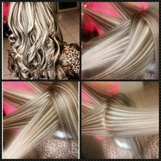 <3 So Pretty May Get This Done When I Go To My  Hair Dresser..Love It!