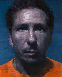 "François Bard, Prisonnier III Bertrand, 2012, Oil on Canvas, 51"" x 41½"""