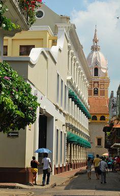 Ciudad amurallada / Old Town (walled) Cartagena de Indias  Colombia