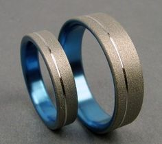 The Original Pinstripe Titanium Ring Wedding band set in Pale Gunmetal Blue is creative inspiration for us. Get more photo about related with by looking at photos gallery at the bottom of this page. We are want to say thanks if you like to share this post to another people …