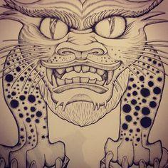 해태 타투 디자인 haetae tattoo design by teo